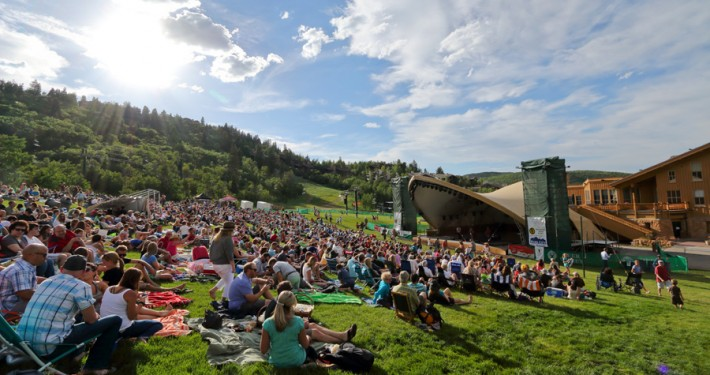 Deer Valley Music Festival Concerts at Snowpark Ampitheater