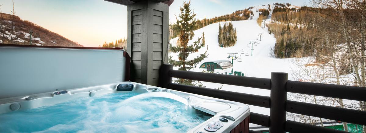 View from a Park City Ski In Ski Out Rental at Mont Cervin, Deer Valley Resort