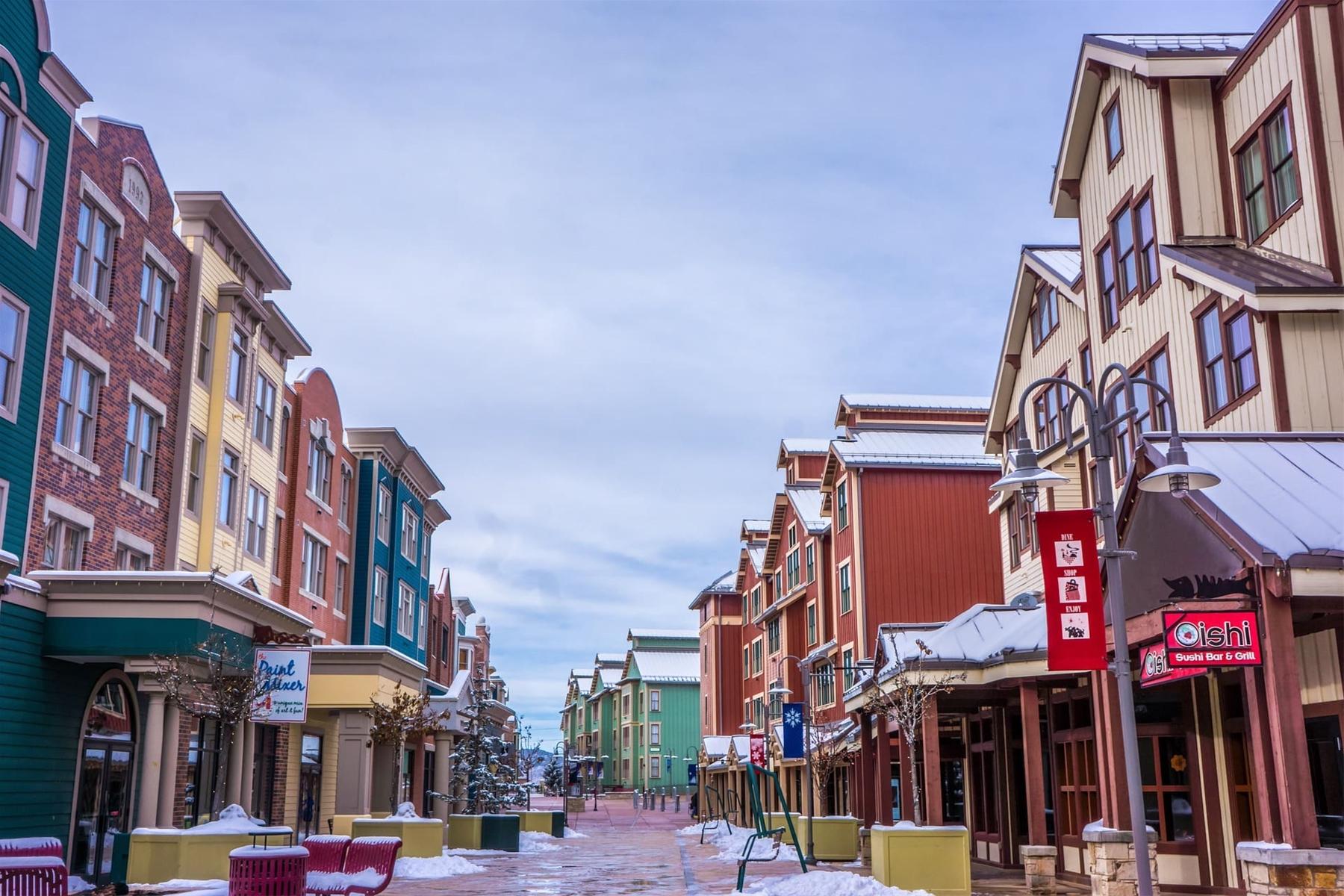 Shops and Resturants in Park City Utah